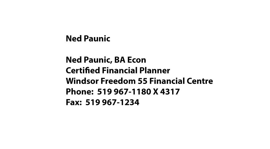 NedPaunic